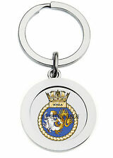 HMS SCYLLA KEY RING (METAL)
