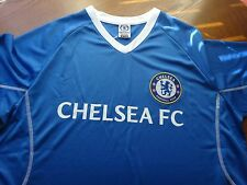 CHELSEA FOOTBALL CLUB~MEN'S ATHLETIC Blue Sport T-SHIRT~100% Polyester~Size M