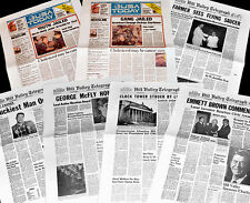 BACK TO THE FUTURE - Newspaper Prop-Collection - 7 Newspaper pages from BTTF