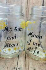 Game of Thrones Mug, glass jar My Sun and Stars, Moon of my Life, handmade