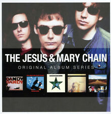 Jesus & Mary Chain ORIGINAL ALBUM SERIES Automatic DARKLANDS New Sealed 5 CD