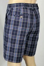 Polo Ralph Lauren Blue Burgundy Prospect Cotton Chino Shorts 36 NWT