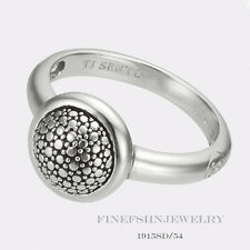 Authentic Ti Sento Milano Sterling Silver Ring Size 7 Euro 54 1915SD/54
