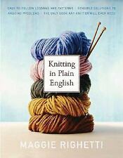 Knitting in Plain English by Maggie Righetti Paperback