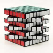 7x7x7 Magic ABS Ultra-smooth Professional Speed Magic Cube Puzzle Twist Black