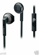 Philips SHE3205 Wired Headset Headphone Earphone with bass and Mic (BLACK)
