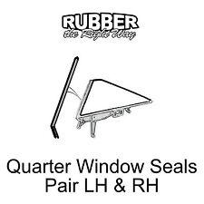 1965 1966 1967 1968 Ford Galaxie Quarter Window Seals - pair