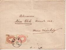 AUSTRIA SEALED LETTER COVER 1860 KAISER FRANZ JOSEPH TO ROMANIA MAROSVASARHELY