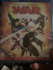 Justice League: War (Blu-ray/DVD, 2014, 2-Disc Set)Brand New