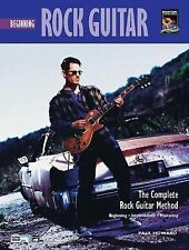 Complete Rock Guitar Method: Beginning Rock Guitar, Howard, Paul, New Books