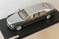 GLM - Bentley Mulsanne limousine argent / gris 2012 Carat by Duchatelet 1/43