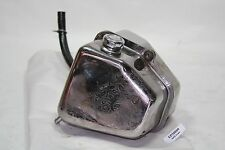 engraved chrome oil tank bag tank Harley 1990 FXR FXRT FXRP FXRD FXLR EPS20809
