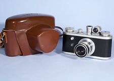 Corfield Periflex 1 Film Camera Lumar X 50mm f/3.5 Lens * England 1955