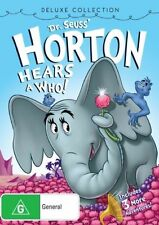 DVD DR SEUSS HORTON HEARS A WHO    REGION 4 LIKE NEW CONDITION FREE FAST POSTAGE