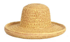 Small Resin Straw Hat Style 2, Doll House Miniature. 1.12 Scale