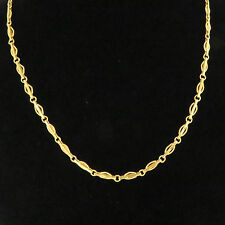 NYJEWEL 24K Solid Gold Brand New China Style Chain Necklace 26.5g Great Gift