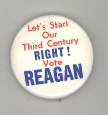 1976 RONALD REAGAN President POLITICAL Pinback PIN Button BADGE Republican GOP