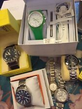 ESQ Movado, Invicta, Mk, Bulova, Technomarine Broken Watch Lot! SUPER DEAL As-IS