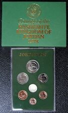 1978 KINGDOM OF JORDAN PROOF SET OF 7 COINS w/Original Cover-King Hussein-RARE