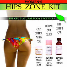 Womens Natural Hips Zone Kit Stretch Marks Lightening Private Areas Cellulite 3