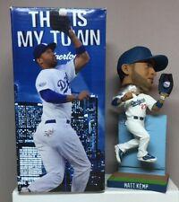 """MATT KEMP #27 (LA Dodgers) BOBBLEHEAD """"The Catch"""" 2010 (NEW)"""