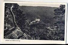 E 88 - Schwarzburg, Blick auf , ungelaufen