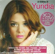 Lo Esencial De Juridia CD NEW 3 CDs + 1 DVD With 15 Videos + 10 Karaokes SEALED