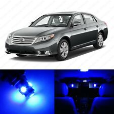12 x Ultra Blue LED Interior Lights Package For 2005 - 2012 Toyota Avalon