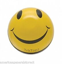 set 2 YELLOW SMILEY FACE VALVE STEM CAPS bicycle bike air car truck wheel tire
