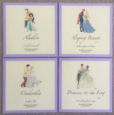 DISNEY COUPLES WEDDING TABLE NAME / TABLE NUMBER CARDS ANY CHARACTERS & COLOURS