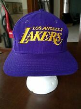 Vintage LOS ANGELES LAKERS Sport Specialties THE TWILL SNAPBACK HAT RARE