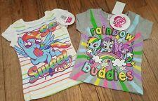 Toddler Girl 2T My Little Pony Rainbow Dash Shirt Lot~NEW~Rainbow Buddies/Sweet