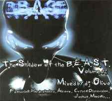 DJ OLIVE - The Shadow Of The Beast Vol-2 - CD NEW - Crystal Distortion Techno