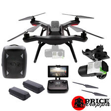 3DR Solo Smart Drone BackPack Bundle with Gimble + 1 Extra Battery