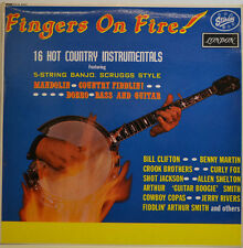 FINGERS ON FIRE   - 16 HOT COUNTRY INSTRUMENTALS - STARDAY HA.-B.8205 LP (X172)