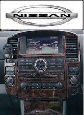 NISSAN NAVARA D40 PICK UP INTERIOR BURL WOOD DASH TRIM KIT SET 09 2010 2011 2012