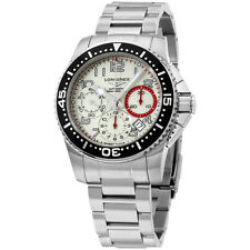 Longines HydroConquest White Dial Stainless Steel Men's Watch L36964136