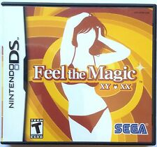 FEEL THE MAGIC XY XX NINTENDO DS SUGGESTIVE THEME GAME