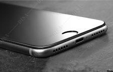 iPhone 7 vorne, Panzer Glas Folie Displayfolie Panzerfolie H9, 3D FULL schwarz
