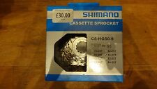 Shimano HG50 12/27 9 speed bicycle cassette