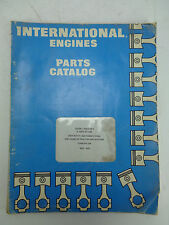 International Parts Catalog D and  DT-239 Diesel Engines Form EPC-239 1976