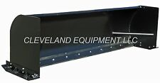 "NEW 96"" SNOW PUSHER ATTACHMENT Skid Steer Loader Box Plow Mustang Terex Thomas"
