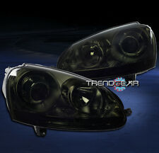 2006-2009 VW JETTA RABBIT GTI MK5 PROJECTOR HEADLIGHTS SMOKE 2007 2008 PARKING