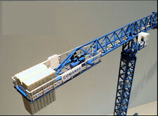 1:87 ROS Linden Comansa Heavy-duty Tower Crane Aloy Crane Truck Die Cast Model