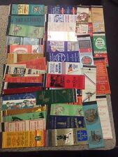BIG LOT of (50) matchbook covers-Vintage advertising real nice selection 202-p36