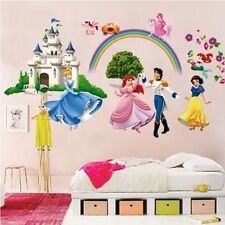 Princess Castle Removable Wall Sticker Vinyl Art Decals Nursery Room Decor WN#