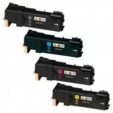 4 x 3K Color Toner for Xerox Phaser 6500 6500n Workcentre 6505 6505n 106R01597