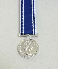 Police LSGC Miniature Medal, Long Service Good Conduct, Ribbon, EIIR, Mini, New
