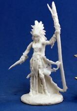 LIELA DARK ELF WIZARD - Reaper Miniatures Dark Heaven Bones - 77121
