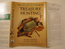 Real Book About Treasure Hunting, Hal Burton, Dust Jacket Only